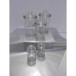 Glass Apothecary Candy Jar 600ml