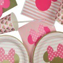 Minnie Mouse Themed Partyware