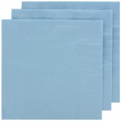 2 Ply Lunch Napkins 20pk - Baby Blue