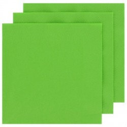2 Ply Cocktail Napkins 20pk - Lime Green
