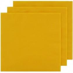2 Ply Cocktail Napkins 20pk - Yellow