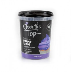 Over the Top  Buttercream Purple 425g