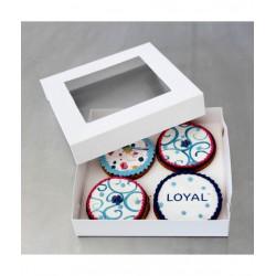 Cookie Boxes 15cm x 15cm