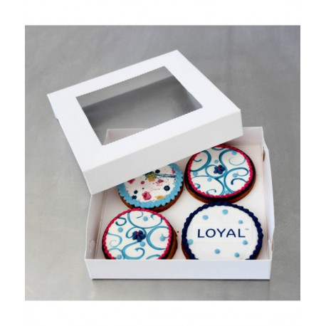Cookie Boxes 15cm x 15cm