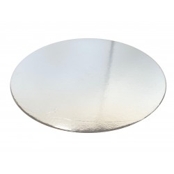 Round cardboard Silver Cake board- 12 inch