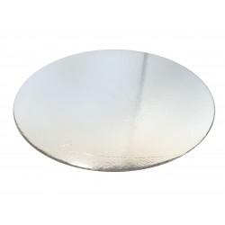 Round cardboard Silver Cake board- 14 inch
