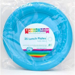 Lunch Plates 25 Pieces - Azure