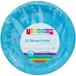 Dinner Plates 25 Pce - Azure