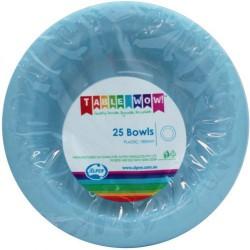 Dessert Bowls 25 Pce - Light Blue