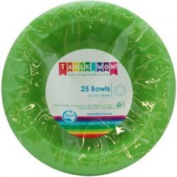 Dessert Bowls 25 Pce - Lime Green