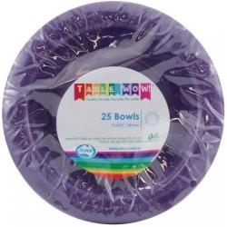 Dessert Bowls 25 Pce - Purple
