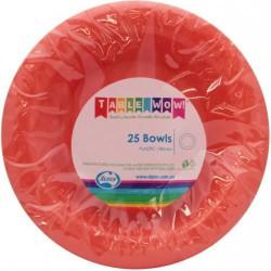 Dessert Bowls 25 Pce - Orange