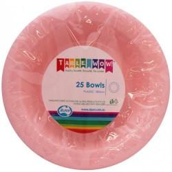 Dessert Bowls 25 Pce  - Pink