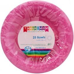 Dessert Bowls 25 Pce  - Magenta