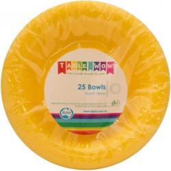 Dessert Bowls 25 Pce - Yellow