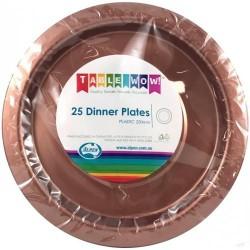 Dinner Plates 25 Pce - Rose Gold