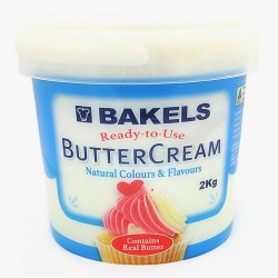 Bakels Vanilla  Buttercream-  2kg