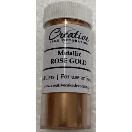 Metallic lustre-Rose Gold