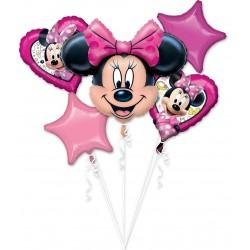 Minnie Mouse Foil Balloon Set