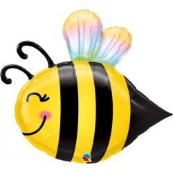 "Bumble Bee foil Balloon- 38"""