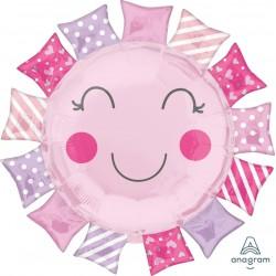 Baby Sunshine Foil  Balloon- Pink