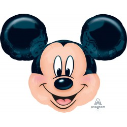 Micky Mouse head  foil  balloon