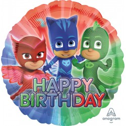 PJ Masks Happy Birthday Foil Balloon