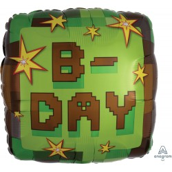 TNT Dynamite Birthday Foil Balloon