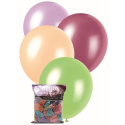 Pearl Balloons 100pce - Assorted