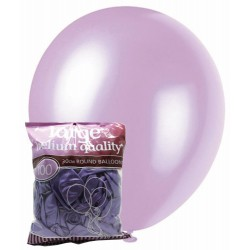 Pearl Balloons 100pce - Lavender