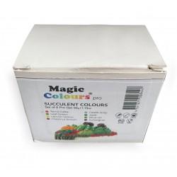 Magic Colour Pro Gel  Succulent Colours Set