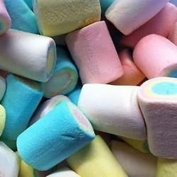 Rainbow Tube Marshmallows- 1kg