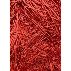 Shredded  Paper- Red 50g