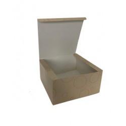 """Foldable Cake Box - Size: 7"""""""