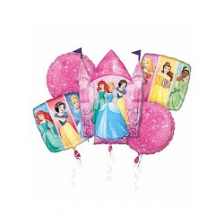 *INFLATED* Disney Princesses Foil Balloon Bouquet