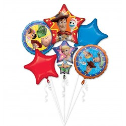 *INFLATED* Toy Story- Woody and Friends Foil Balloon Set