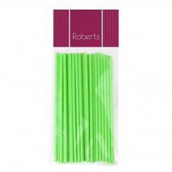 Lollipop Sticks 150mm- Lime Green