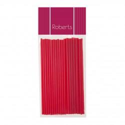 Lollipop Sticks 150mm- Red