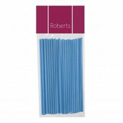 Lollipop Sticks 150mm- Baby Blue