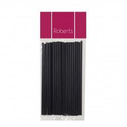 Lollipop Sticks 150mm- Black