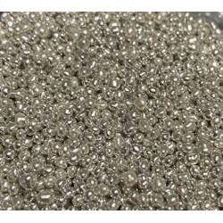 Cachous Pearl Silver 100g- 2mm