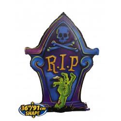Halloween Foil balloon- R.I.P Tombstone