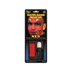 Water Based Costume Make-up - Red