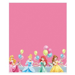 Disney Princess Printed Plastic Table Cover