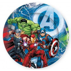 Avengers Paper Plates