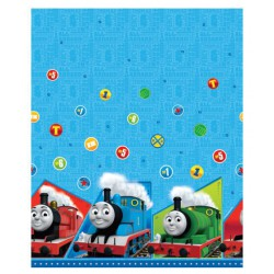 Thomas the Tank Printed Plastic Table Cover