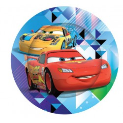 Cars Paper Plates