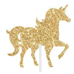 Unicorn Glitter Cake Topper