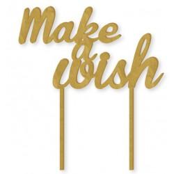 """Make a Wish"" Acrylic Cake Topper"