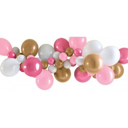 Balloon Garland- Pink